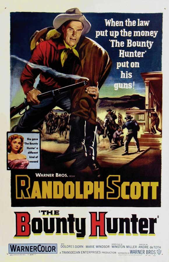 The Bounty Hunter (1954) movie