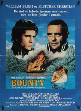 The Bounty - 11 x 17 Movie Poster - Danish Style A