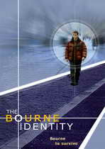 The Bourne Identity - 11 x 17 Movie Poster - Style D