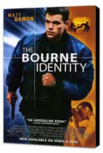 The Bourne Identity - 11 x 17 Movie Poster - Style B - Museum Wrapped Canvas