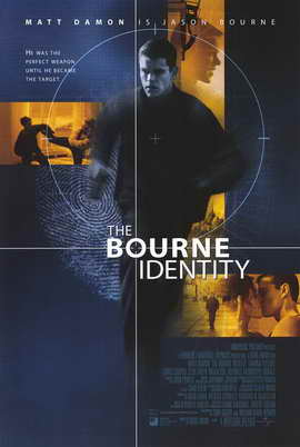 The Bourne Identity - 11 x 17 Movie Poster - Style A