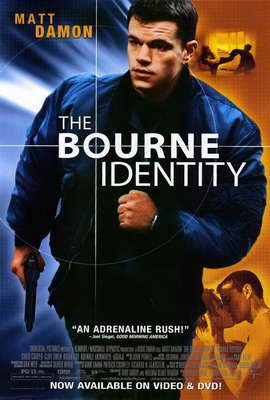 The Bourne Identity - 27 x 40 Movie Poster - Style B
