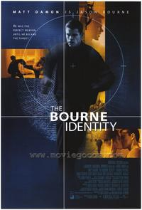The Bourne Identity - 43 x 62 Movie Poster - Bus Shelter Style A