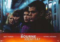 The Bourne Identity - 11 x 14 Poster German Style F