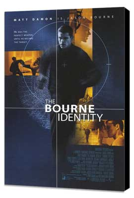 The Bourne Identity - 11 x 17 Movie Poster - Style A - Museum Wrapped Canvas