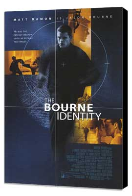The Bourne Identity - 27 x 40 Movie Poster - Style A - Museum Wrapped Canvas