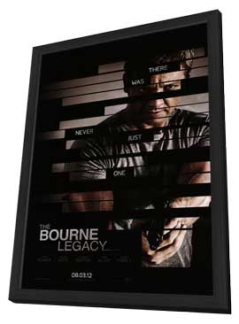 The Bourne Legacy - 27 x 40 Movie Poster - Style B - in Deluxe Wood Frame