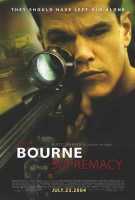 The Bourne Supremacy - 27 x 40 Movie Poster - Style A