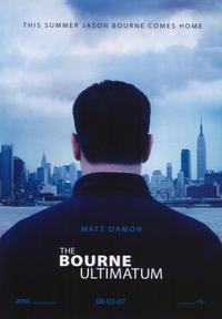 The Bourne Ultimatum - 43 x 62 Movie Poster - Bus Shelter Style A