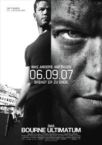 The Bourne Ultimatum - 11 x 17 Movie Poster - German Style A