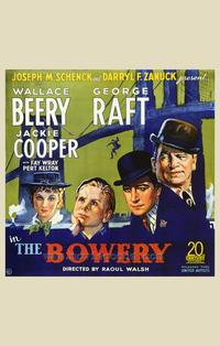 The Bowery - 43 x 62 Movie Poster - Bus Shelter Style A