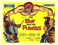 The Boy and the Pirates - 11 x 14 Movie Poster - Style J