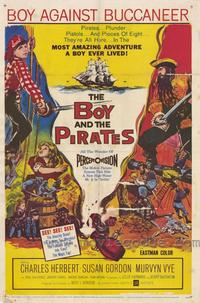 The Boy and the Pirates - 43 x 62 Movie Poster - Bus Shelter Style A