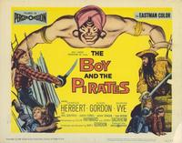 The Boy and the Pirates - 22 x 28 Movie Poster - Half Sheet Style A