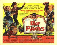 The Boy and the Pirates - 22 x 28 Movie Poster - Half Sheet Style B