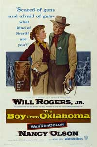 The Boy from Oklahoma - 27 x 40 Movie Poster - Style A