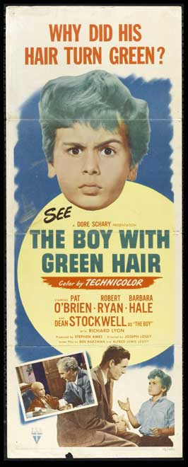The Boy with Green Hair - 14 x 36 Movie Poster - Insert Style A