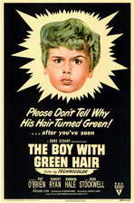 The Boy with the Green Hair - 11 x 17 Movie Poster - Style A