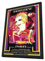 The Boyfriend - 11 x 17 Movie Poster - Style A - in Deluxe Wood Frame