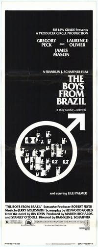 The Boys from Brazil - 14 x 36 Movie Poster - Insert Style A