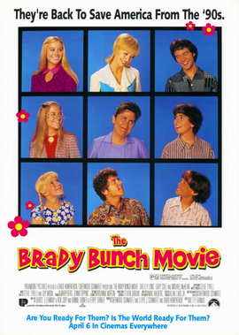 The Brady Bunch Movie - 11 x 17 Movie Poster - Style B