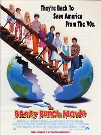 The Brady Bunch Movie - 43 x 62 Movie Poster - Bus Shelter Style A