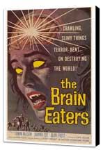 The Brain Eaters - 27 x 40 Movie Poster - Style A - Museum Wrapped Canvas