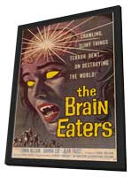 The Brain Eaters - 11 x 17 Movie Poster - Style A - in Deluxe Wood Frame