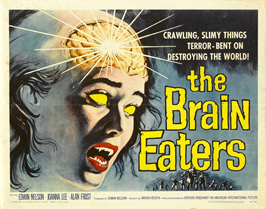 The Brain Eaters - 30 x 40 Movie Poster UK - Style A