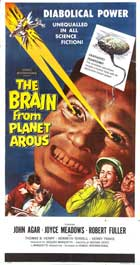 The Brain from Planet Arous - 14 x 36 Movie Poster - Insert Style A