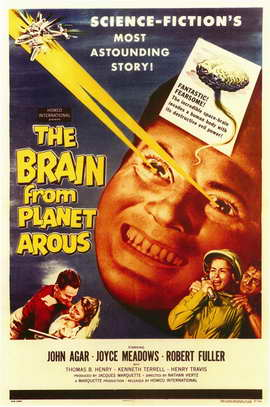 The Brain from Planet Arous - 11 x 17 Movie Poster - Style A