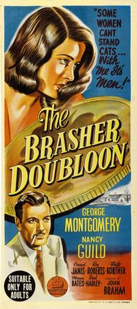 The Brasher Doubloon - 11 x 17 Movie Poster - Style B