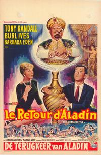 The Brass Bottle - 11 x 17 Movie Poster - Belgian Style A