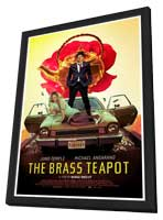 The Brass Teapot - 11 x 17 Movie Poster - Style A - in Deluxe Wood Frame