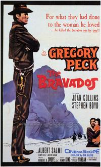 The Bravados - 43 x 62 Movie Poster - Bus Shelter Style A