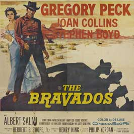 The Bravados - 30 x 30 Movie Poster - Style A