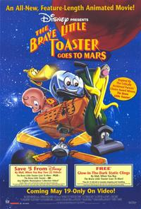 The Brave Little Toaster Goes to Mars - 11 x 17 Movie Poster - Style A