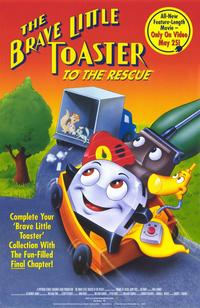 The Brave Little Toaster to the Rescue - 11 x 17 Movie Poster - Style A