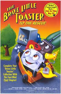 The Brave Little Toaster to the Rescue - 27 x 40 Movie Poster - Style A