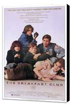 The Breakfast Club - 27 x 40 Movie Poster - Style A - Museum Wrapped Canvas