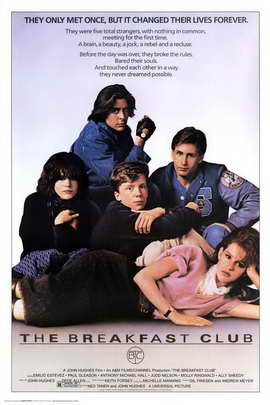 The Breakfast Club - Movie Poster - 24 x 36 - Style A