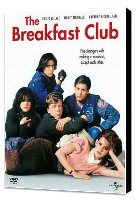 The Breakfast Club - 27 x 40 Movie Poster - Style B - Museum Wrapped Canvas