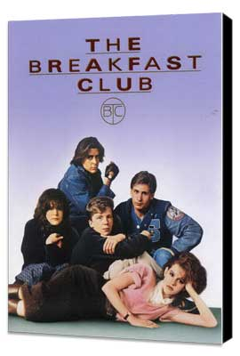 The Breakfast Club - 27 x 40 Movie Poster - Style C - Museum Wrapped Canvas