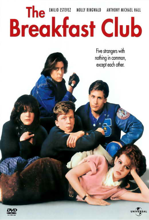 the breakfast club movie posters from movie poster shop. Black Bedroom Furniture Sets. Home Design Ideas