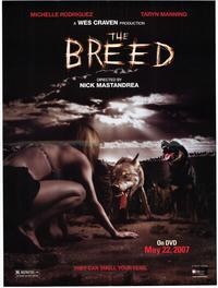 The Breed - 11 x 17 Movie Poster - Style B
