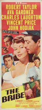 The Bribe - 14 x 36 Movie Poster - Insert Style A