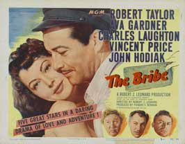 The Bribe - 22 x 28 Movie Poster - Half Sheet Style A
