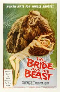 The Bride and the Beast - 27 x 40 Movie Poster - Style A