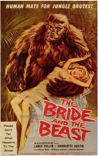 The Bride and the Beast - 43 x 62 Movie Poster - Bus Shelter Style A