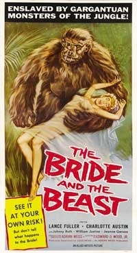 The Bride and the Beast - 20 x 40 Movie Poster - Style A